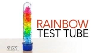 Rainbow Test Tube – Sick Science! #156