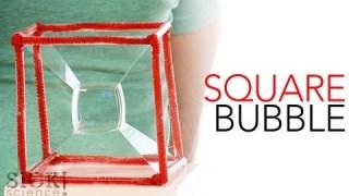 Square Bubble – Sick Science! #149