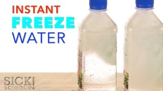Instant Freeze Water – Sick Science! #226