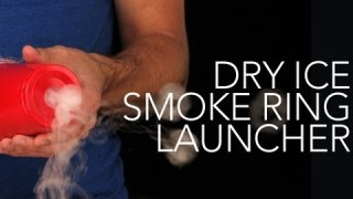 Dry Ice Smoke Ring Launcher – Sick Science! #007