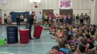 Liquid Nitrogen Ping Pong Ball Explosion – 5th Grade Class Graduation