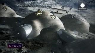 ESA Euronews: Un village sur la Lune ?