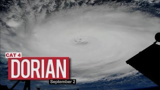 Views of Hurricane Dorian from the International Space Station – September 2, 2019