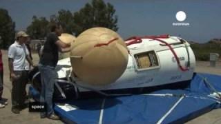 ESA Euronews: Test d'ammaraggio per l'IXV il nuovo veicolo spaziale europeo