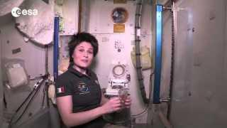 International Space Station toilet tour