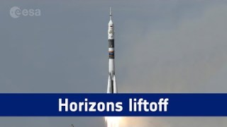 Horizons mission – liftoff replay