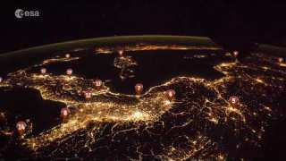 Test your geography skills in this timelapse over Europe!