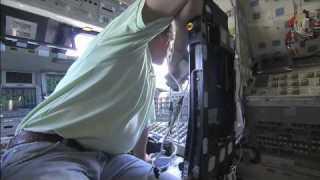 Shuttle Atlantis: From the Inside