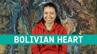 Earth from space: Bolivian highland heart