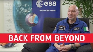 Luca Parmitano: back from Beyond