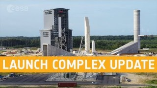 Ariane 6 launch complex – September 2019