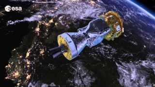 LISA Pathfinder launch animation
