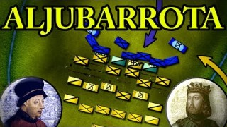 The Battle of Aljubarrota 1385 AD