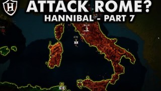 Why didn't Hannibal attack Rome? ⚔️ Hannibal Part 7 – Second Punic War