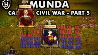 Battle of Munda, 45 BC ⚔️ Caesar's Civil War