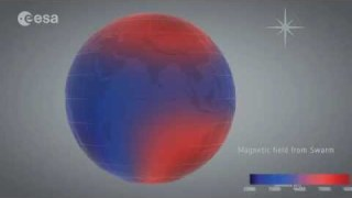 Earth's ever-changing magnetic field