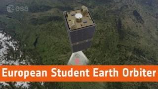 European Student Earth Orbiter animation