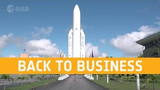 Back to business – Europe's Spaceport