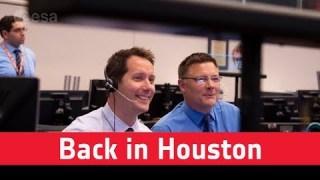 Thomas Pesquet back in Houston