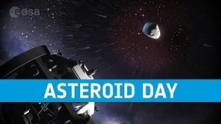 La giornata mondiale dell'asteroide dell'ESA