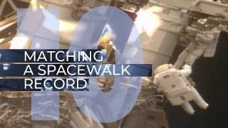 Matching a Spacewalk Record