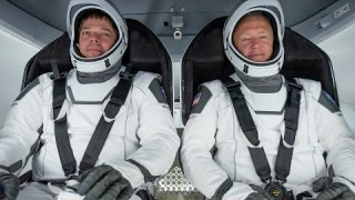 NASA Astronauts Return Home in SpaceX's Crew Dragon Spacecraft