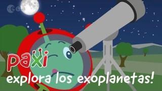 ¡Paxi explora los exoplanetas!