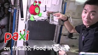 Paxi on the ISS: Food in space