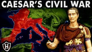 Caesar's Civil War ⚔️ (ALL PARTS 1 – 5) ⚔️  FULL DOCUMENTARY