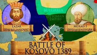 Battle of Kosovo 1389 – Serbian-Ottoman Wars DOCUMENTARY