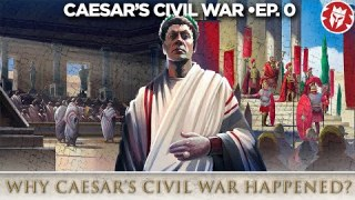 Caesar's Great Roman Civil War – How it all started – DOCUMENTARY