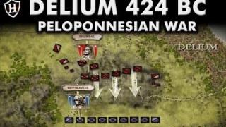 Battle of Delium, 424 BC ⚔️ Athens takes on Sparta ⚔️ Peloponnesian War