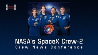 Meet the Astronauts Launching on NASA's SpaceX Crew-2 Mission to the International Space Station