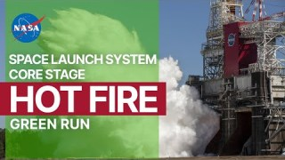 Smoke & Fire! NASA Tests the World's Most Powerful Rocket
