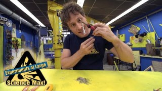 Science Max|BUILD IT YOURSELF|Electromagnet|EXPERIMENT