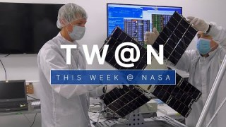 Preparing a Small Satellite to Conduct Some Big Science on This Week @NASA – April 2, 2021
