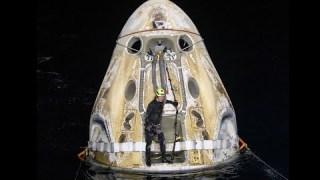 NASA's SpaceX Crew-1 Mission Splashes Down