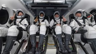 Post-Splashdown News Update on NASA's SpaceX Crew-1 Mission