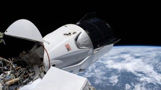 NASA's SpaceX Crew-1 Hatch Closure & Farewell at International Space Station