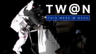 Spacewalking Astronauts Work Outside the Space Station on This Week @NASA – June 25, 2021