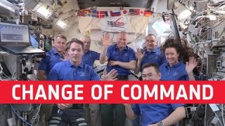Thomas becomes Space Station commander