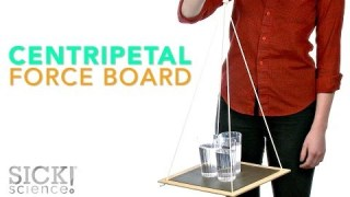 Centripetal Force Board – Sick Science! #191
