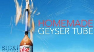 Homemade Geyser Tube – Sick Science #145