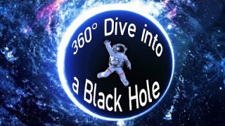360° Dive into a BLACK HOLE