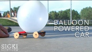 Balloon Powered Car – Sick Science! #089