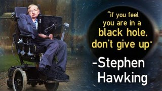 Stephen Hawking – His Wisdom, Wit, and Work