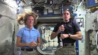 Kansas Students Speak Live with Space Station NASA Astronauts