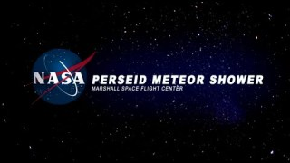 Perseid meteor shower on NASA TV