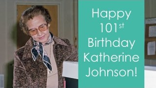 NASA Honors Space Mathematician Katherine Johnson on her 101st Birthday