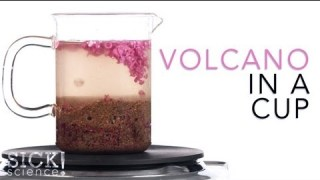 Volcano in a Cup – Sick Science #093